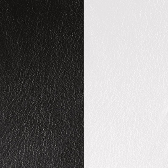 【レジョルジェット】8mmレザー ブラック/ホワイト