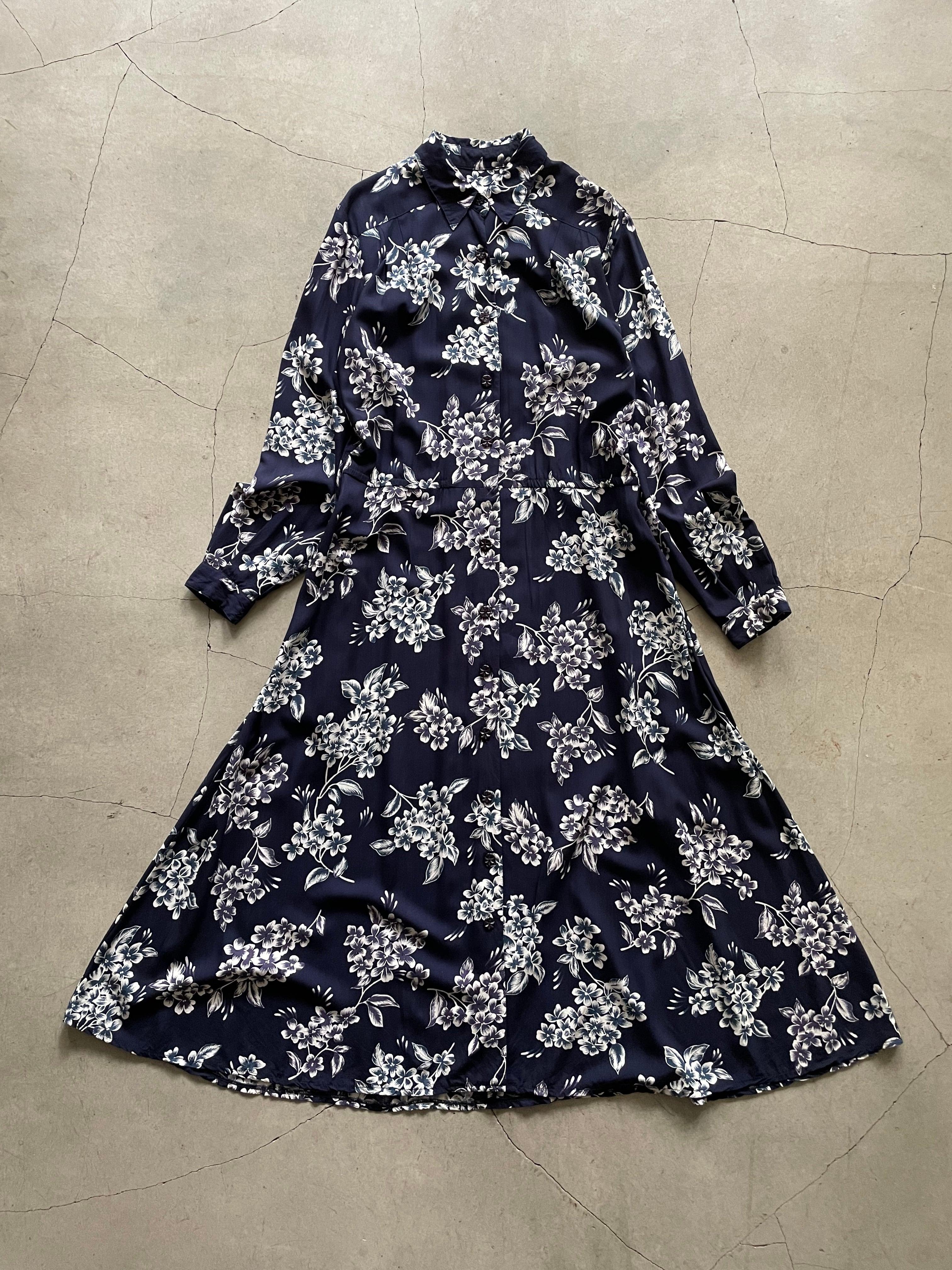 """Liz claiborne"" vintage floral onepiece"