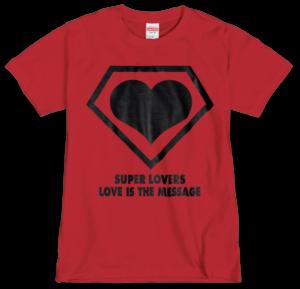 SUPERLOVERS 90s logo/スーパーラヴァーズ Tシャツ