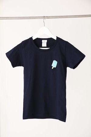 アイスキャンディー刺繍Tシャツ レディースS〜Lサイズ