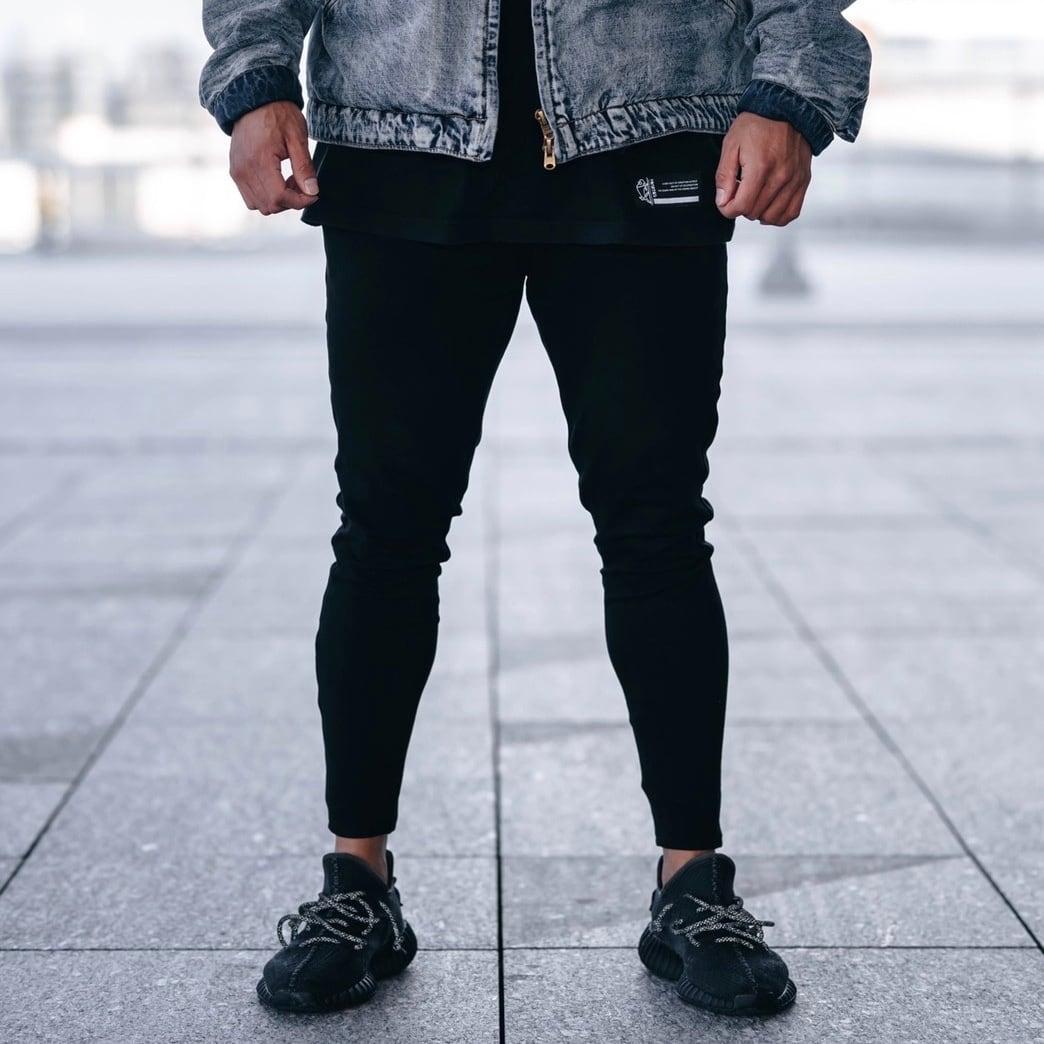 """""""Crusher"""" Jogger Pants (Black)"""