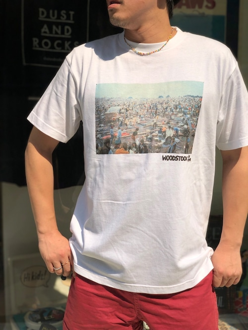 【ARCHIVE】DAR×WOODSTOCK フォトTシャツ