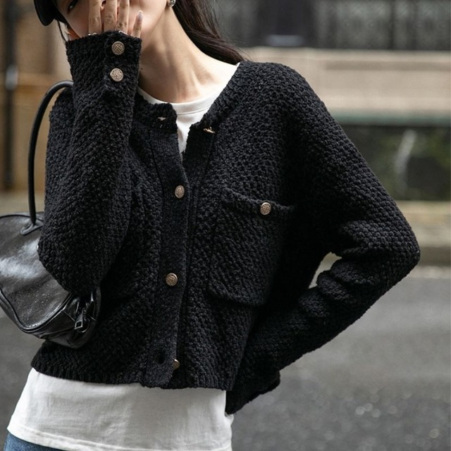 Knit cardigan KRE1075