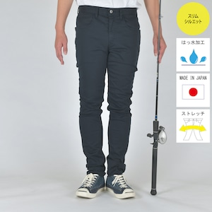 """""""The Colorful Angler""""  FISHING STRETCH COLOR PANTS DARK NAVY BW-104VMC"""
