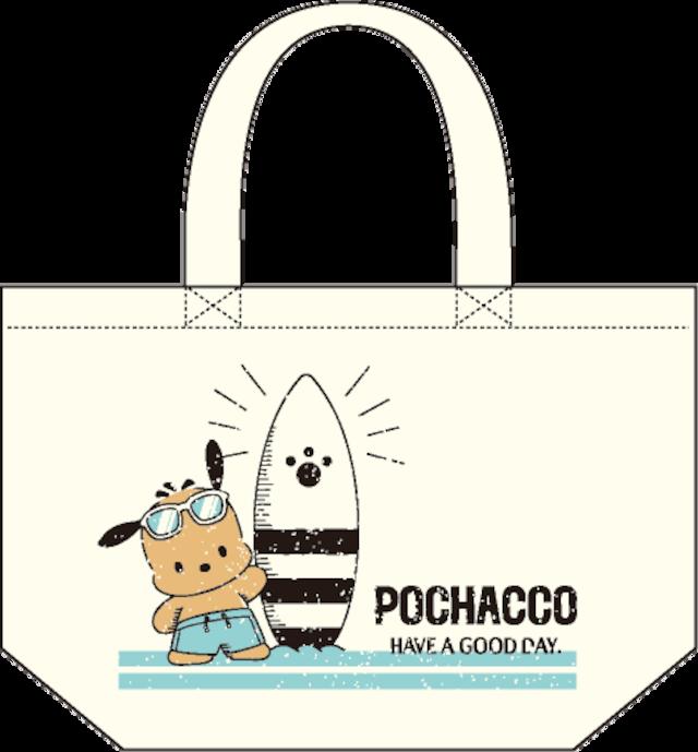 ポチャッコ cafe 限定コラボランチトート(サングラスタイプ)