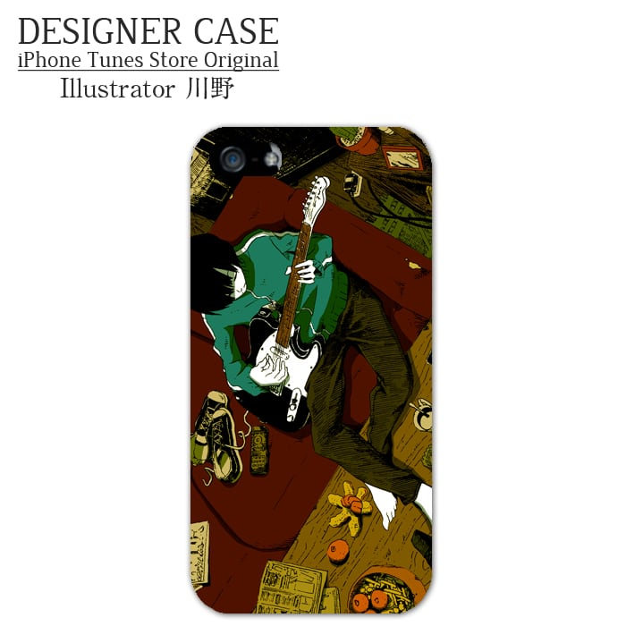 iPhone6 Plus Hard case [Telecaster3]  Illustrator:Kawano