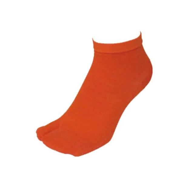 【Inner-Fact】Tabi Short Socks (Dark Orange)