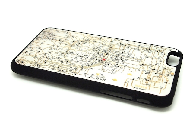 東京回路線図 iphone6/6s  case 白【LEDは光りません】【東京回路線図A5クリアファイルをプレゼント】
