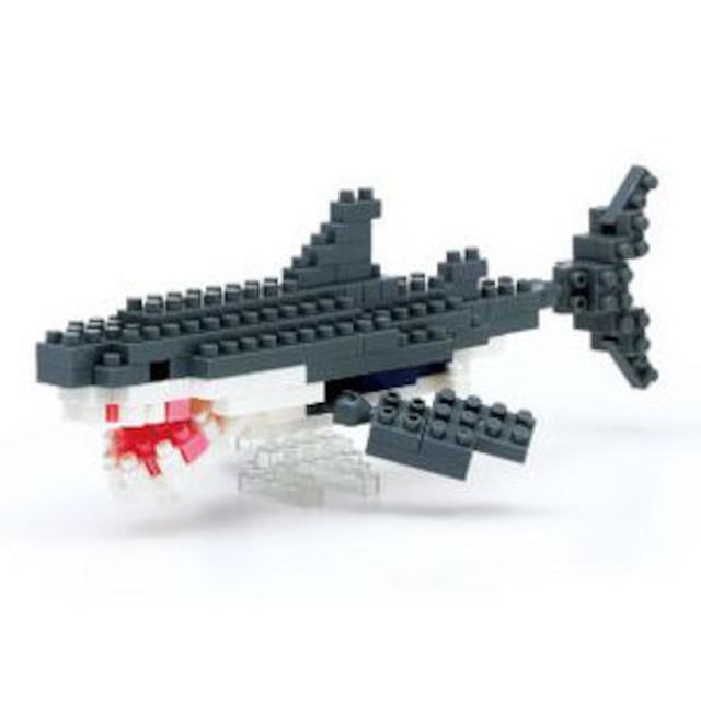 【限定生産】nanoblock ホホジロザメ