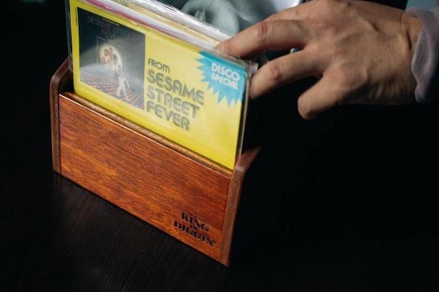 7inch用レコードラック:KING OF DIGGIN'発