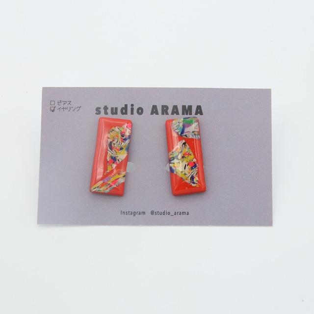 studioARAMA/スタジオアラマ/アートミニカラーイヤリング/AMC-2-24