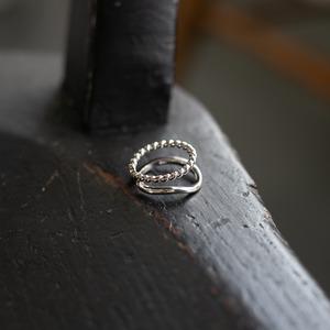 ハーフツイスト シルバーリング Silver925