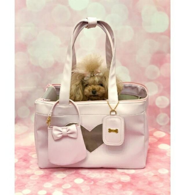 【即納】FOR PETS ONLY LOVELY BAG ラブリーバッグ PINK CREAM(PE2021-B5・B4)