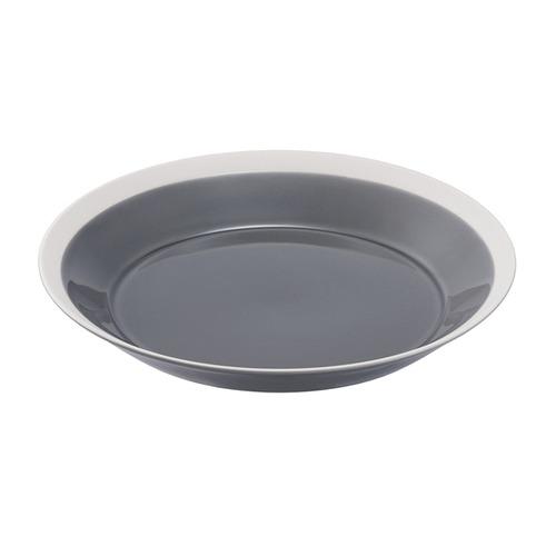 yumiko iihoshi porcelain(イイホシ ユミコ) Dishes プレート220 fog gray