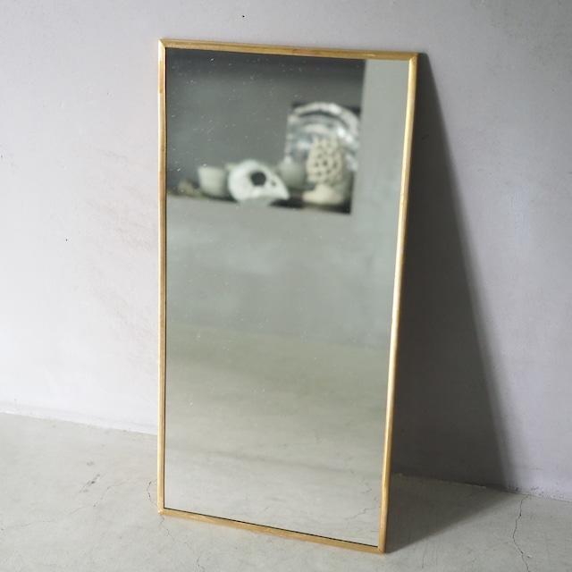 Odier Brass Mirror Rectangle