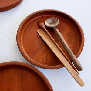 【30975】 木のミニ盆(1枚) / Woodn Tray