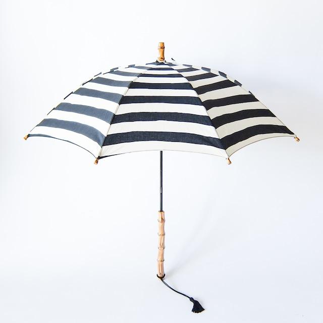 傳 tutaee - ツタエノヒガサ きつねのたすき - 長日傘 - ボーダー