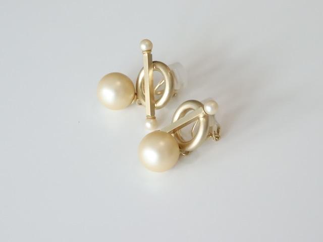 〈LULA MAE〉Marcato Earrings Pearl
