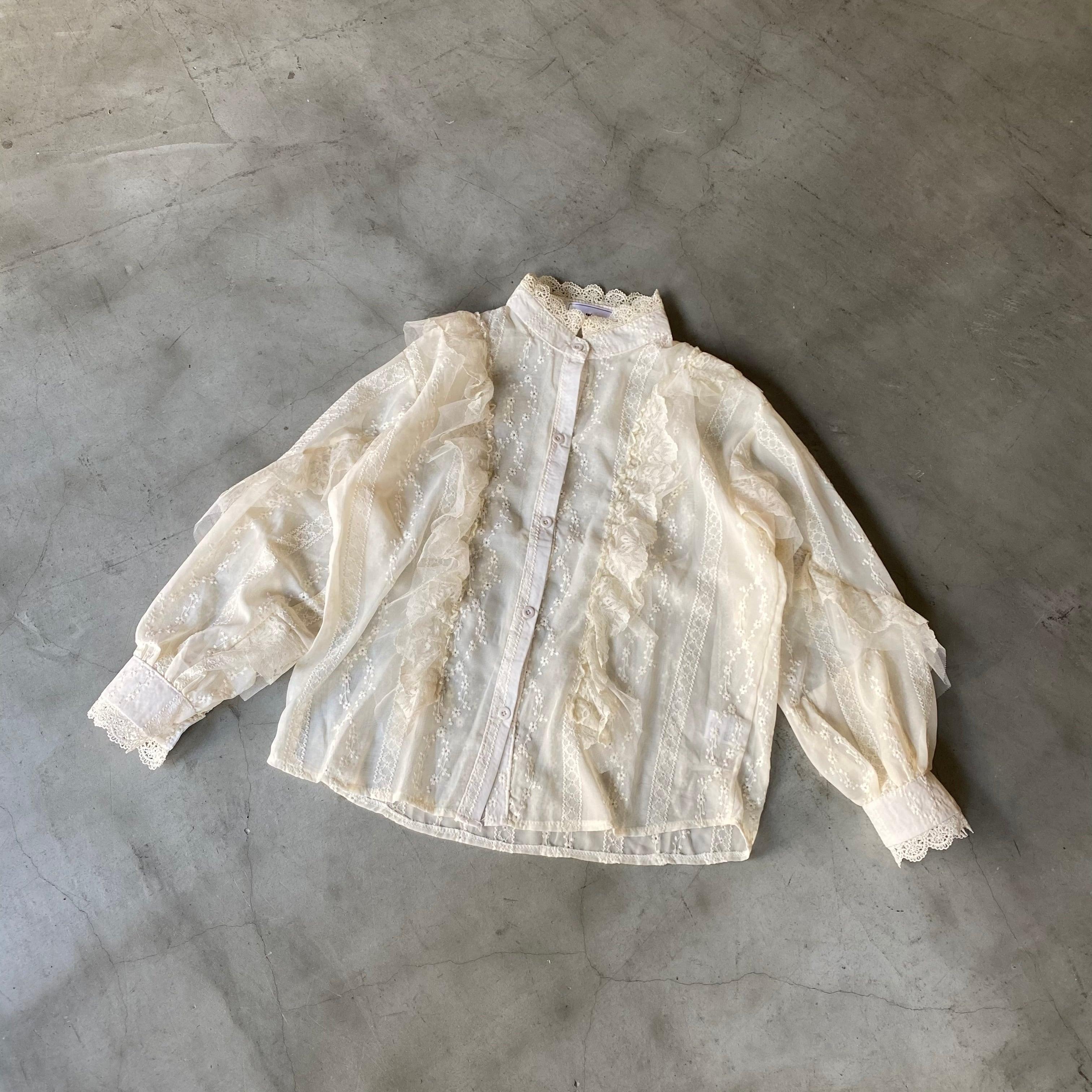 romantic blouse[2103-31]