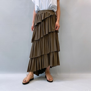 RIM.ARK(リムアーク) Asymmetry tiered SK 2021春夏新作 [送料無料]