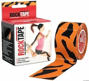 ロックテープ-スタンダード-タイガー/ ROCKTAPE 5cm*5m  standard Tiger