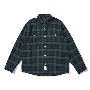 【UNISEX】プラッドシャツ シャツジャケット【2colors】