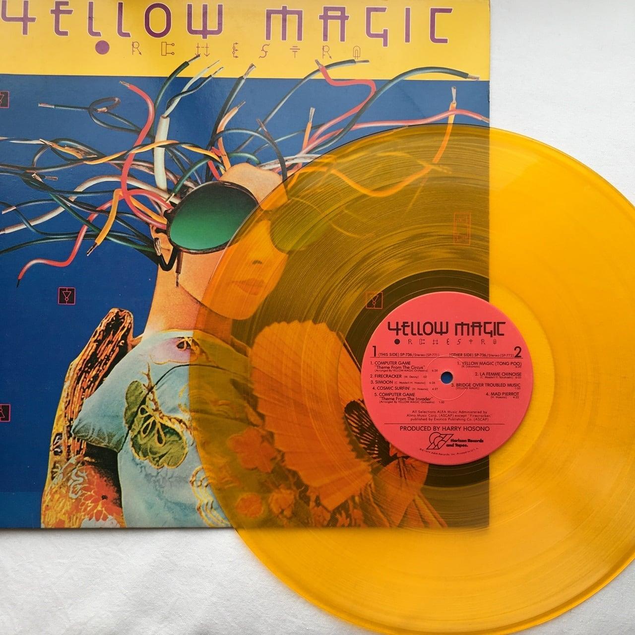 【LP・米盤】YMO / Yellow Magic Orchestra