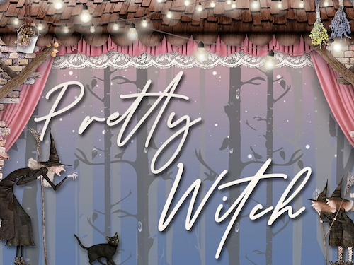 【FC2ブログテンプレート】PrettyWitch かわいい魔女【個人・商用可】