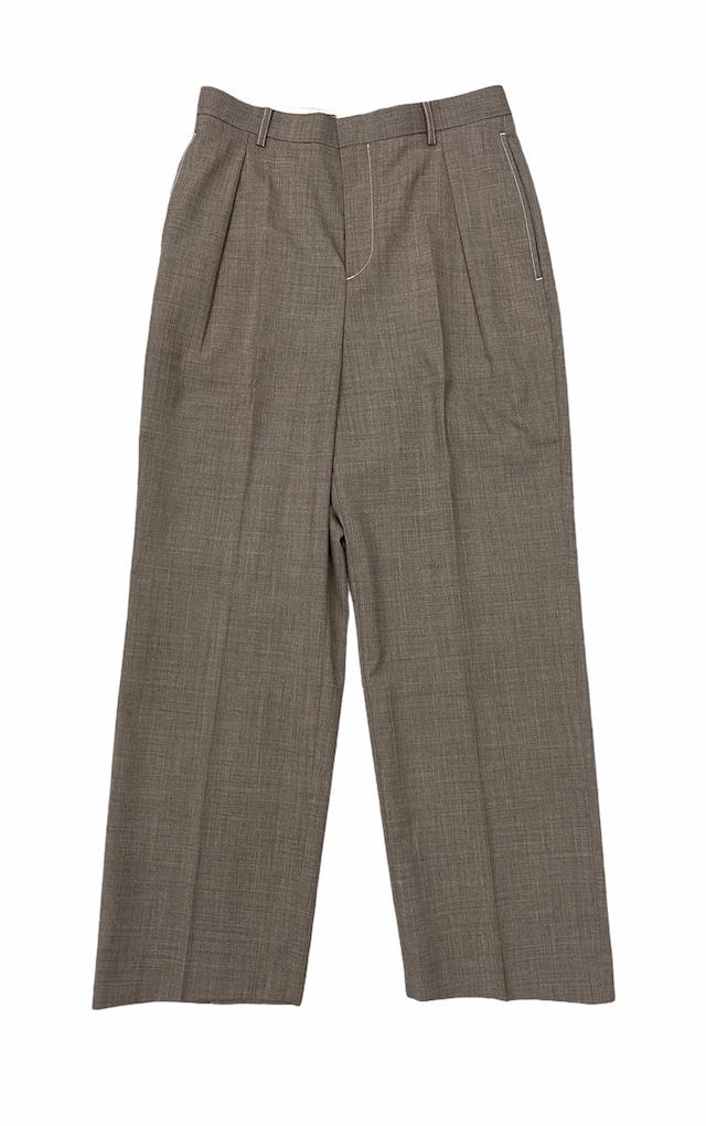 DIGAWEL / Intuck Pants(BEIGE)