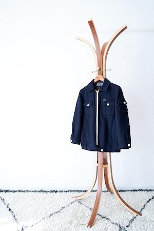 "【1990-2000s】""Gloverall"" Wool CPO JKT / v435"