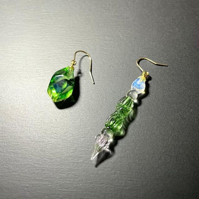 glass pierce【Ore green】