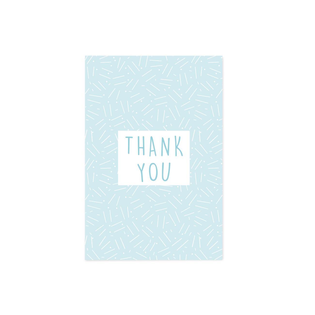 グリーティングカード   THANK YOU