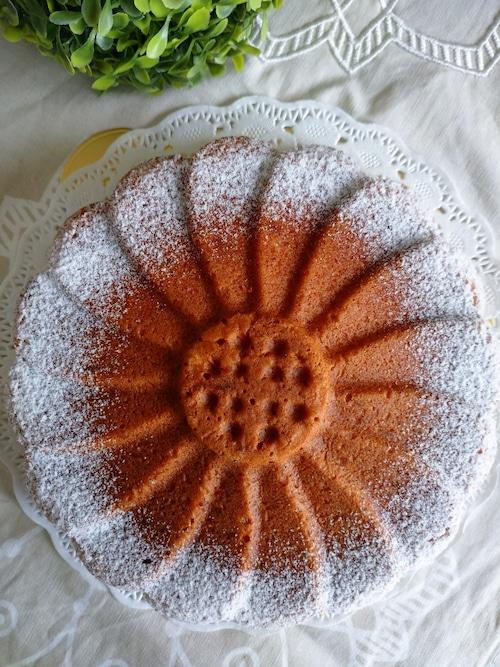 マルグリッド型のオレンジケーキ 直径約19cm