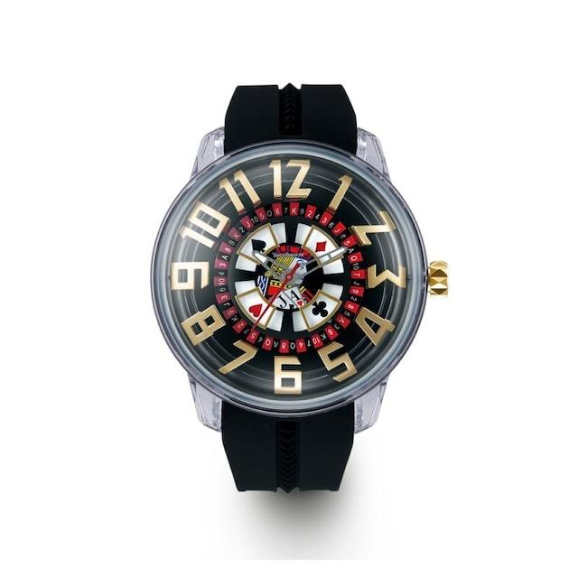 【Tendence テンデンス】TY023005 KING DOMEキングドーム(ブラックジャック)/国内正規品 腕時計