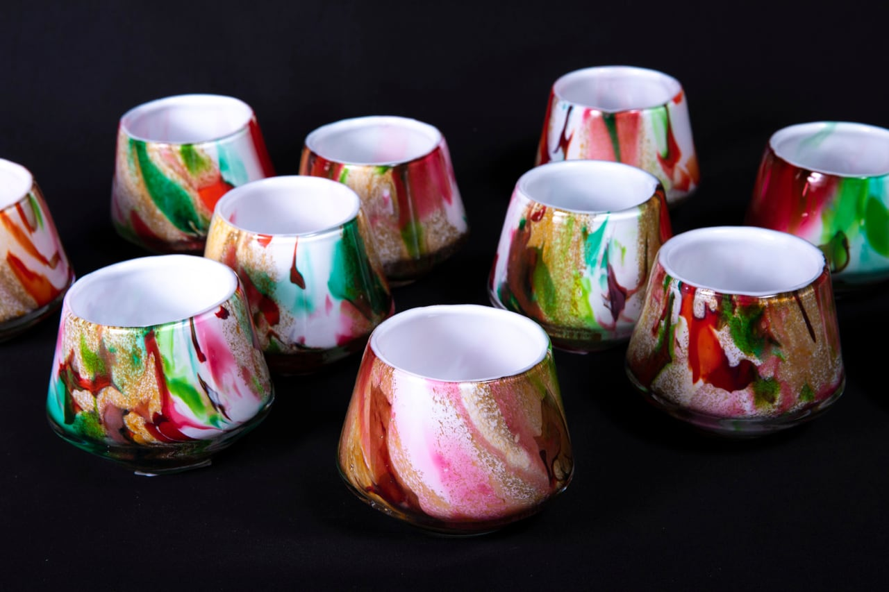 MIXED COLORS - Flower Vase 【Size S】