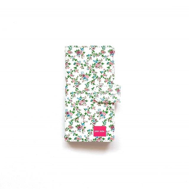 北欧デザイン iPhone手帳型ケース    garden party