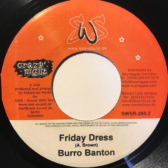 Burro Banton - Friday Dress【7-10853】