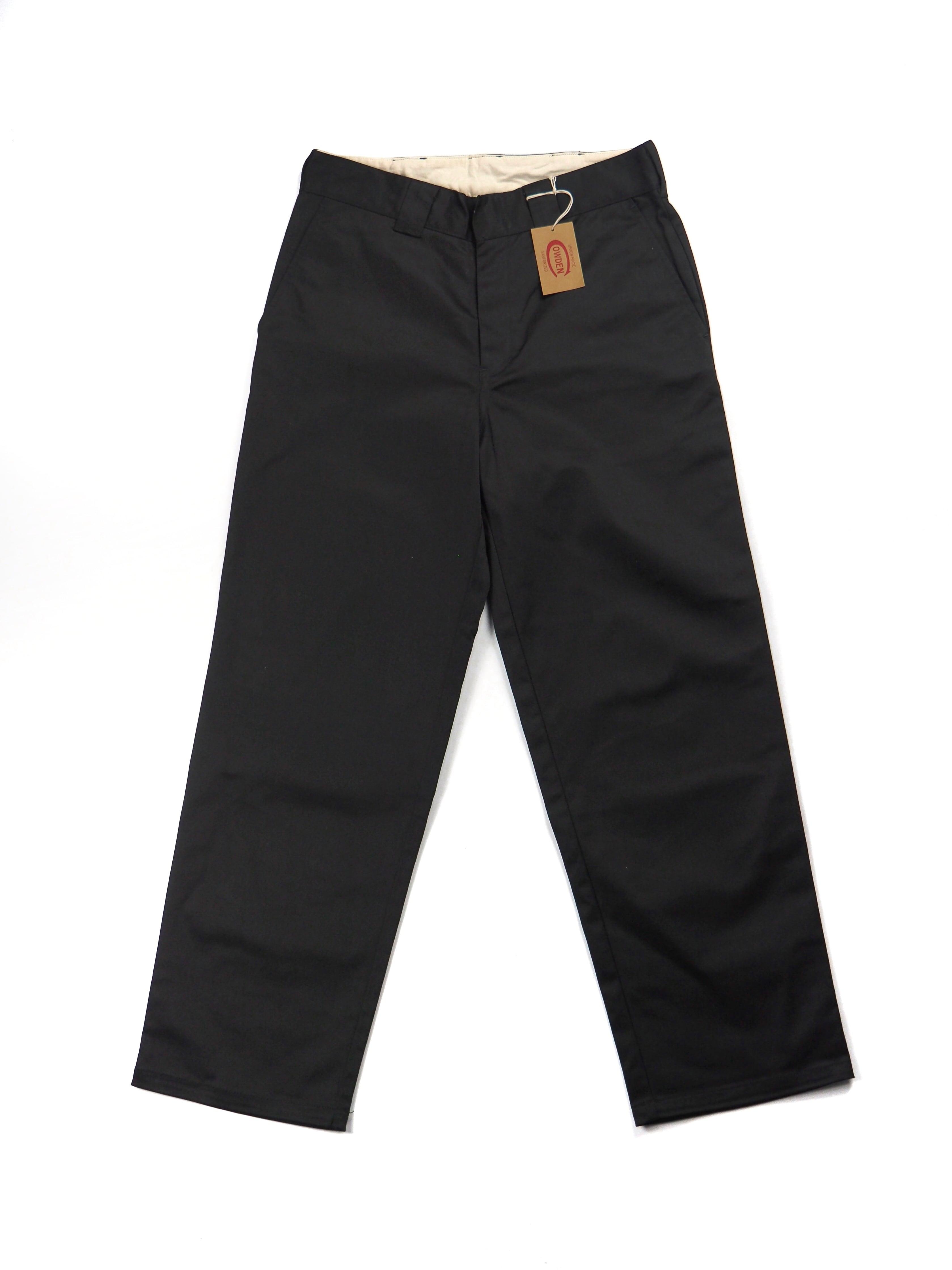 【COWDEN】REGULAR STRAIGHT PANTS