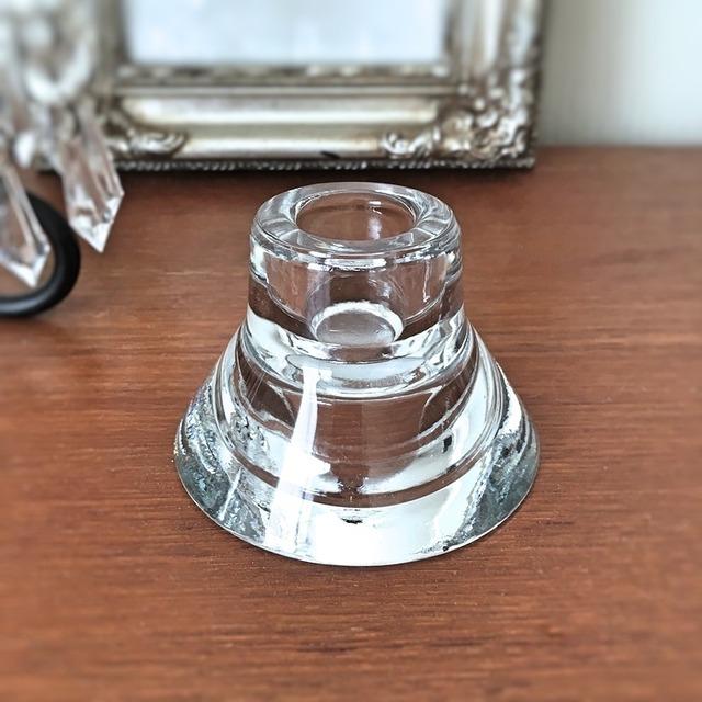 Candle  holder  ガラス・キャンドルホルダー