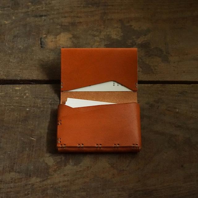 名刺 / カード入れ 25 牛革柿渋染