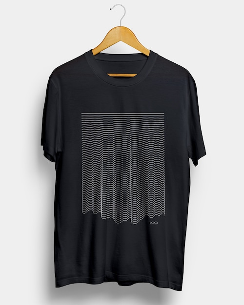 popoq Ripple Wave T-shirt