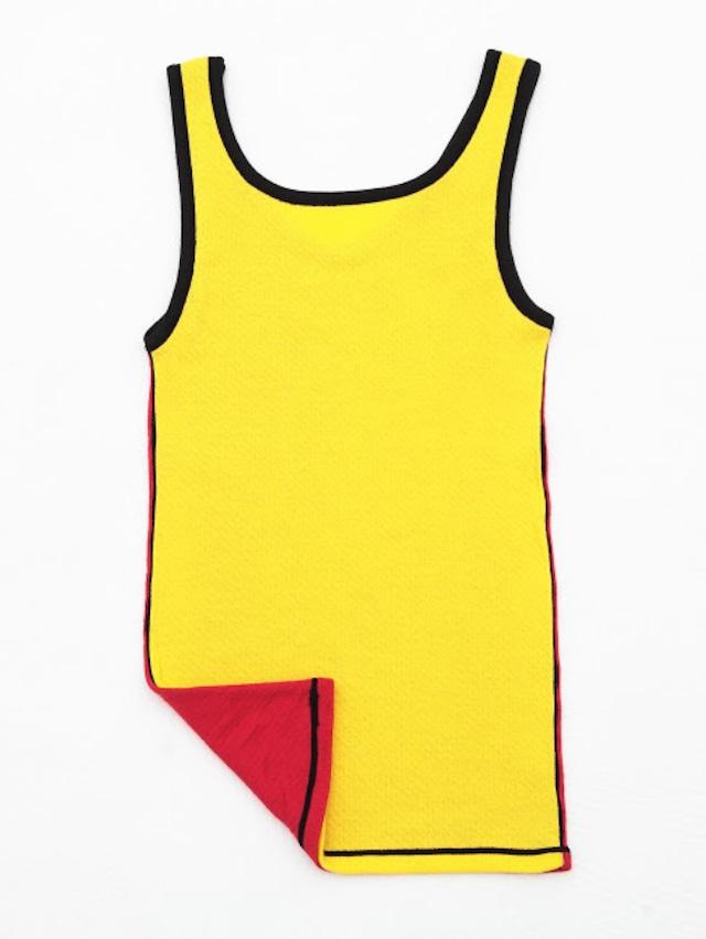 タンクトップ [T-04] 黄×赤