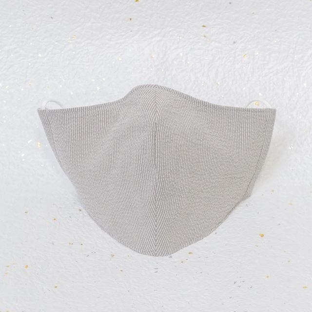 モダン和紙織りマスク クラシック グレー(灰)