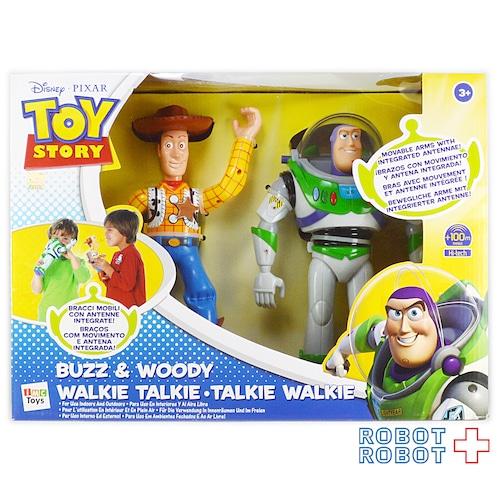 iMC Toys トイストーリー2 ウォーキートーキー バズ&ウッディ フィギュア