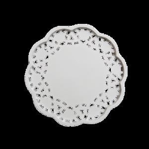 lace design coaster / レースデザインコースター