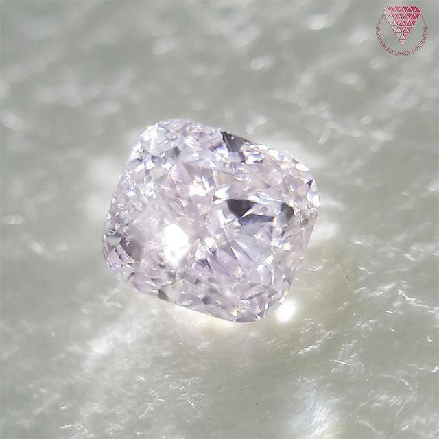 0.284 ct Very Light Pink 天然 ピンク ダイヤモンド
