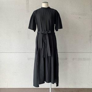 【COSMIC WONDER】Beautiful silk cotton neck lace dress/13CW17237-1