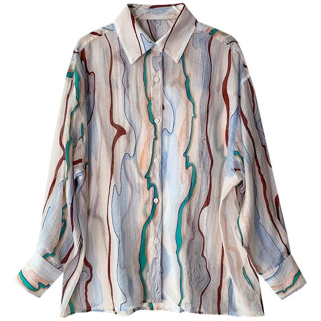 Retro design shirt KRE785