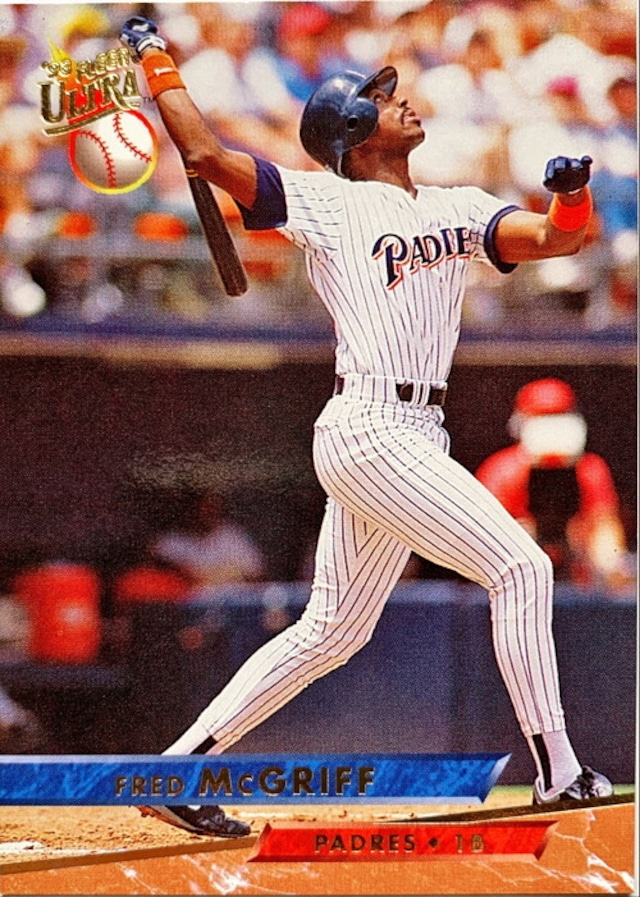 MLBカード 93FLEER Fred McGriff #119 PADRES