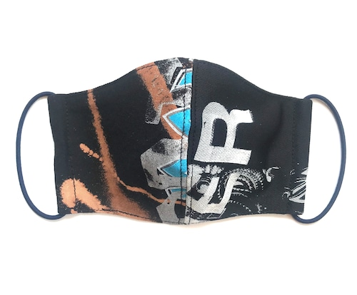 【COTEMER マスク 日本製】BAND BLEACH × PRINT MASK M0422011
